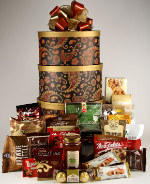 Rosh Hashannah Kosher Gift Tower